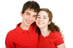 High School Sweethearts Stock Photography