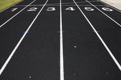 Free High School Track Royalty Free Stock Image - 7559106