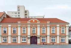 High school on Union Square in Timisoara, Romania. Close Stock Images