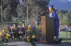 High school valedictorian Royalty Free Stock Photos