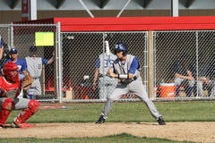 High School Varsity Baseball Stock Photo