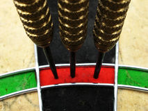 High Score. Perfect 180 dart score Royalty Free Stock Photography