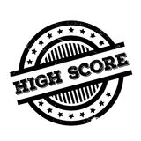 High Score rubber stamp Royalty Free Stock Photos