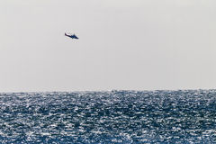 High Seas Helicopter Stock Photography