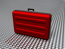 High security briefcase royalty free illustration
