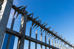 High security fence Royalty Free Stock Photos