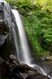 High Shoals Falls. An image of High Shoal Falls in the South Mountains State Park, NC Royalty Free Stock Image