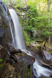 High Shoals Falls. In South Mountain State Park Stock Images