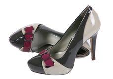 High shoe on white Royalty Free Stock Photos