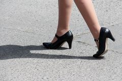 High Shoes Royalty Free Stock Images