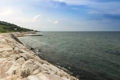 High shore Royalty Free Stock Image