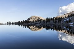High Sierra Lake Central California Stock Photography
