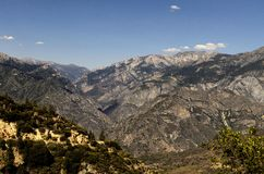 High Sierra Mountain Valley Royalty Free Stock Photo