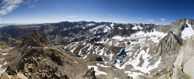 High Sierra Panorama Stock Images