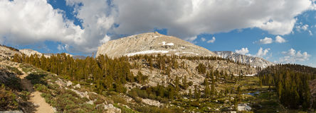 High Sierra Panorama Stock Photo