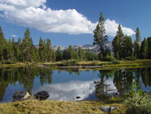 High Sierra Pond I Royalty Free Stock Photos