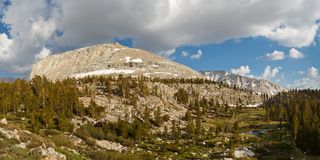 High Sierra Scenery Royalty Free Stock Images