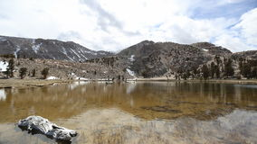 High Sierra Wilderness Time Lapse. Cirque Lake time lapse in California's Sierra Nevada Mountains stock footage