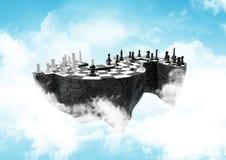 High, sky-high financial strategic war. path Stock Photography