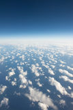 High sky view form airplane Royalty Free Stock Images