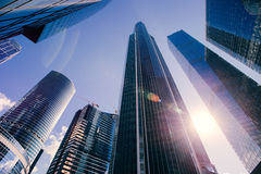 high skyscraper Royalty Free Stock Images