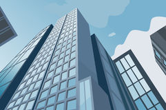 High skyscrapers Royalty Free Stock Photo