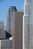 High skyscrapers in Los Angeles Stock Photography