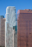 High skyscrapers in Los Angeles Stock Photos