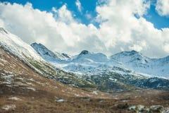 High snow mountains Stock Photography