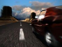 high speed автомобиля Стоковые Фото