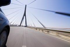 high speed моста Стоковое Изображение