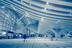 High Speed ​​Rail Station. In shenzhen,china Stock Image