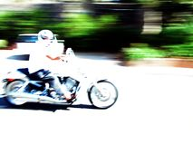 High-speed. Motorcycle Stock Photos