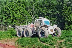 The high-speed agricultural car Stock Photos