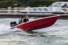 High Speed Boat Stock Photo