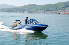 High speed boat Royalty Free Stock Photography