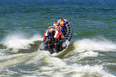 High speed boat Royalty Free Stock Photo