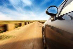 High-speed car Stock Photos