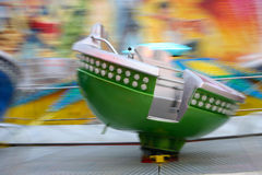 High Speed Carousel - 2 Royalty Free Stock Photos