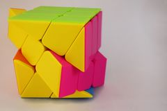 High speed cube stock image