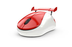 High speed computer mouse Royalty Free Stock Images