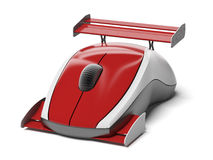 High speed computer mouse Royalty Free Stock Photo