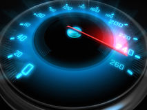 High speed dial Stock Photography
