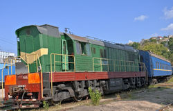 High speed diesel train Royalty Free Stock Images