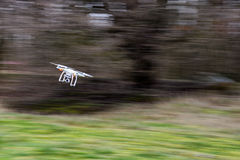 High speed drone in motion Stock Images
