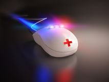 High speed emergency mouse Stock Photos