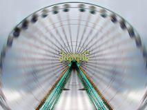High Speed Ferris Wheel. Shot of a ferris wheel in motion stock image