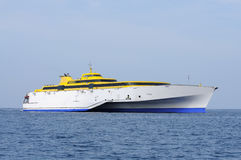 High speed ferry Royalty Free Stock Photos