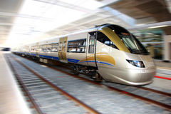 High Speed Gautrain, Gauteng, South Africa. 2010-06-12 royalty free stock image