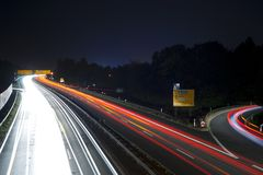 High-speed highway Stock Photo